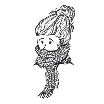 Foulard d'hiver