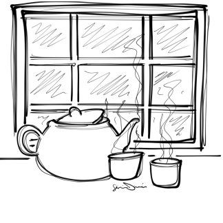 L'heure du thé