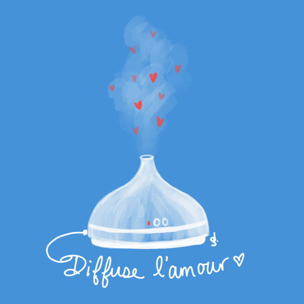 Diffuse l'amour