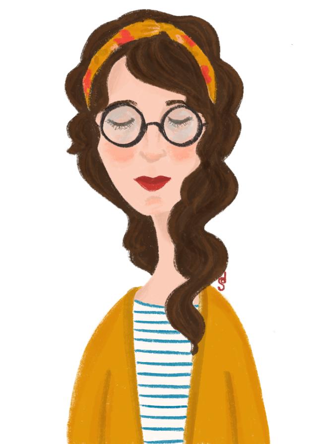 Portrait lunettes